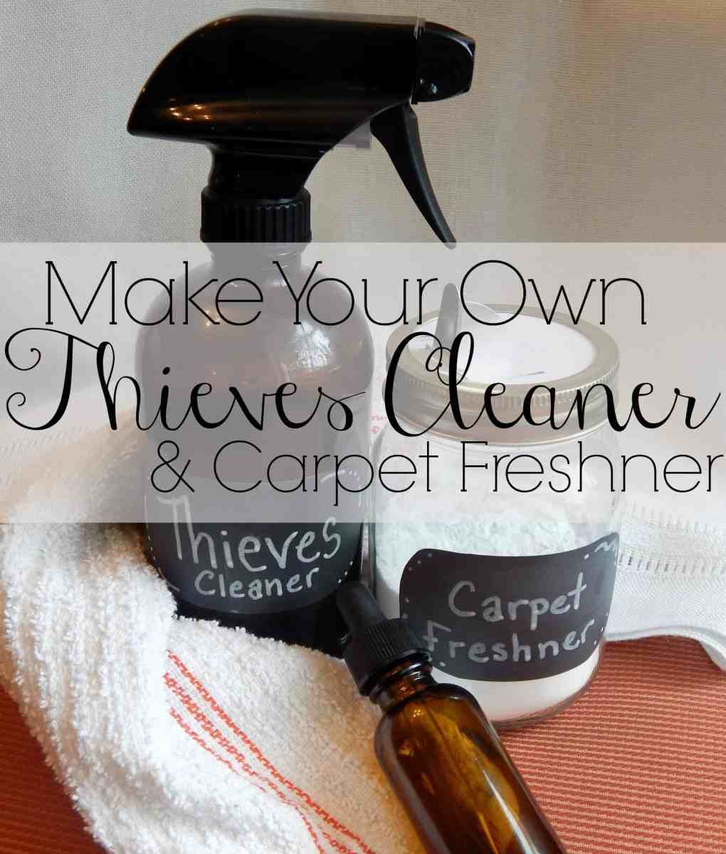 DIY Thieves Cleaner & Carpet Refresher